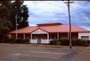 Cook Shire Council Chambers (1996); Heritage Branch staff