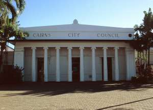 Cairns City Council Chambers (1997); Heritage Branch staff