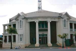 Innisfail Court House (1994); Heritage Branch staff