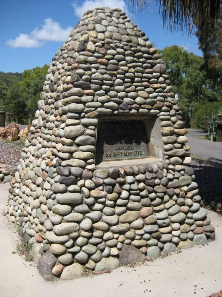 Cook's Landing Place, Town of Seventeen Seventy | Environment, land and  water | Queensland Government