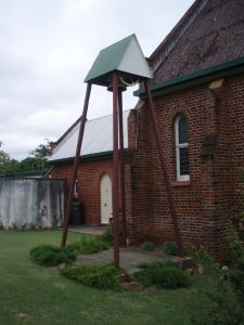 St Mary's Anglican Church, Church hall and Bell Tower (2009); Heritage Branch staff