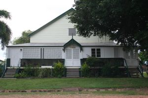 Cook Shire Hall (2010); Heritage Branch staff
