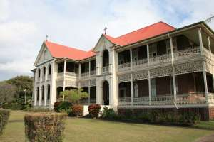 Mount Carmel Convent, from N (2009); Heritage Branch staff