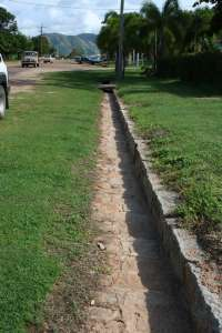 Early Granite Kerbing and Channelling, Cooktown (Queensland Government 2010); Heritage Branch staff