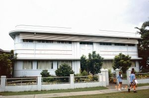 St Monica's High School Administration Building (1996); Heritage Branch staff