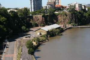 Howard Smith Wharves (2009); Heritage Branch staff