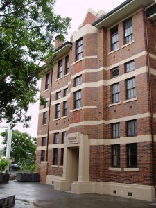 Petrie Terrace Police Depot (former) (2009); Heritage Branch staff