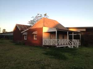 Carroll Cottage (2013); Heritage Branch staff
