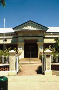 Mulgrave Shire Council Chambers (former); Heritage Branch staff