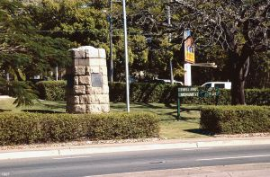 First Free Settlers Monument (1997); Heritage Branch staff