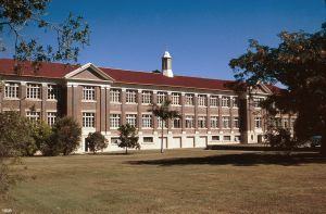 Townsville and District Education Centre and Memorial Gates (1998); Heritage Branch staff