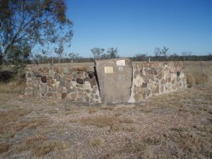 Lilyvale Stand Monument (2009); Heritage Branch staff