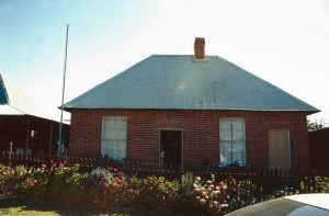 Brick Cottage (2001); Heritage Branch staff