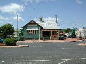 Crows Nest Post Office ; Heritage Branch staff