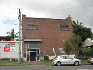 Brisbane City Council Tramway Substation No 9 (former) (2009); Heritage Branch staff
