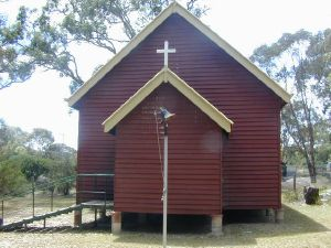 St Denys Anglican Church (2005); Heritage Branch staff