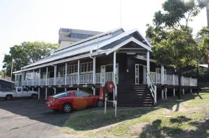Drill Hall with added verandahs (2011); Heritage Branch