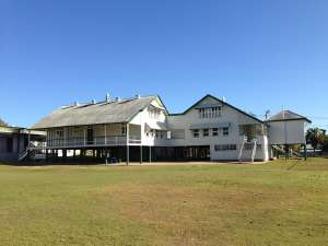 Charters Towers Central State School - Former Infants teaching building. (2014); Principal, Charters Towers Central State School