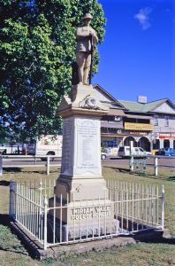Miriam Vale War Memorial (1995); Heritage Branch