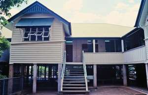Central State School, from S to eastern end of southern elevation (2001); Heritage Branch