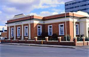 Toowoomba Permanent Building Society (former), 1997  (EPA); Heritage Branch
