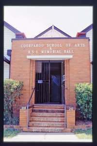 Coorparoo School of Arts and RSL Memorial Hall (1998); Heritage Branch