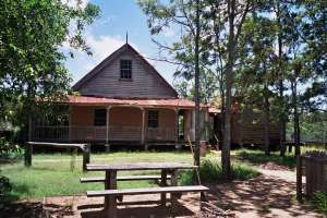 Laurel Hill Farmhouse (2005); Heritage Branch staff