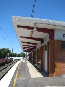 Graceville Railway Station (2009); Heritage Branch staff