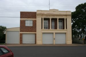 Dalby Fire Station (2010); Heritage Branch staff