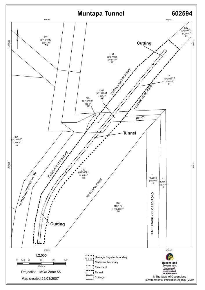 Muntapa Tunnel Environment Land And Water Queensland