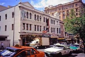 Treasury Chambers - George Street frontage (1990's); Heritage Branch staff