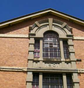 Boggo Road Gaol: No 2 Division and Remnant No 1 Division, cell block (2008); Heritage Branch staff