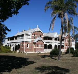 St Columba's Convent (former), from S (2010); Heritage Branch staff