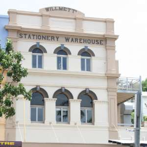 T. Willmetts & Sons printery and stationery warehouse (former) (2017); Heritage Branch staff