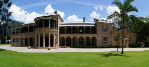 Old Government House (2016) from NE; Vic Bushing