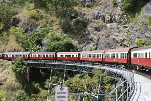 Cairns-Kuranda Railway Stoney Creek Bridge (Queensland Government 2005) ; EHP