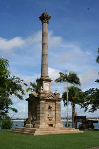 Cooks Monument and Reserve, from southeast (Queensland Government, 2010); EHP