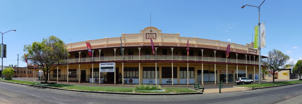 Hotel Corones Charleville Environment Land And Water