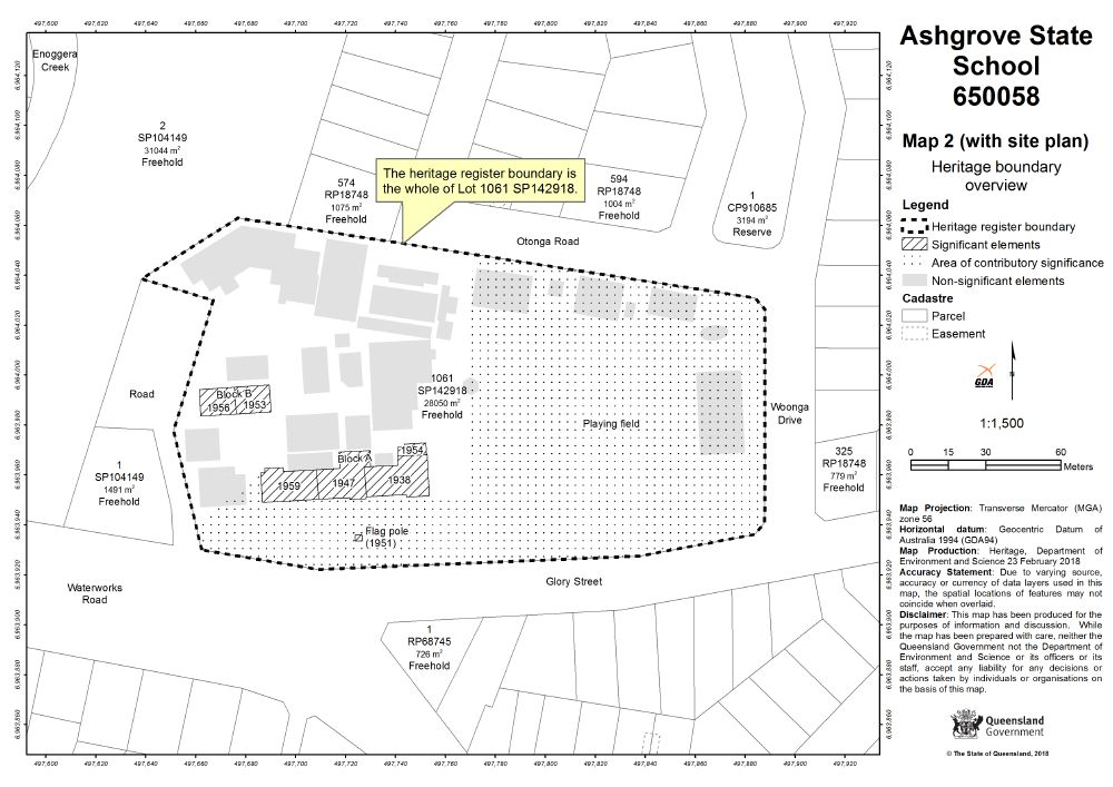Ashgrove State School | Environment, land and water