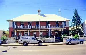 Charters Towers Police Station, Gill Street elevation (1997); Heritage Branch