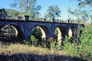 Rail Bridge (Humphery), Gayndah (2002); Heritage Branch