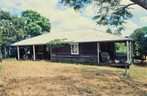 Booubyjan Homestead - side of cottage (1996); Heritage Branch