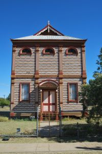 Barcaldine Masonic Temple (2010); Heritage Branch staff