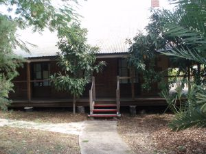 Springsure Hospital Museum from north (2009); Heritage Branch staff