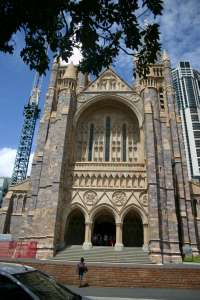 St Johns Cathedral (2009); Heritage Branch staff