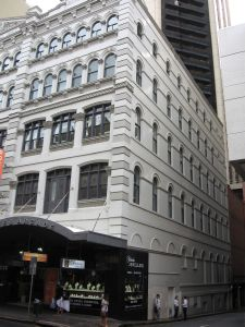 Rowes Building (2009); Heritage Branch staff