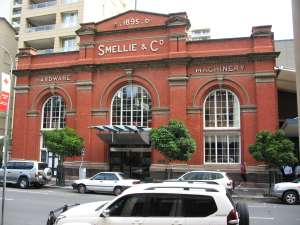 Smellie's Building (2007); Heritage Branch staff