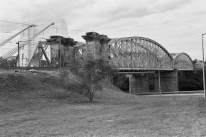Albert Bridge (1990's); Heritage Branch staff