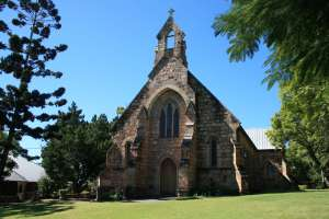 St Marys Anglican Church (2009); Heritage Branch staff