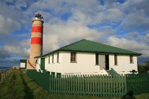 Cape Moreton Lightstation (2006); Heritage Branch staff
